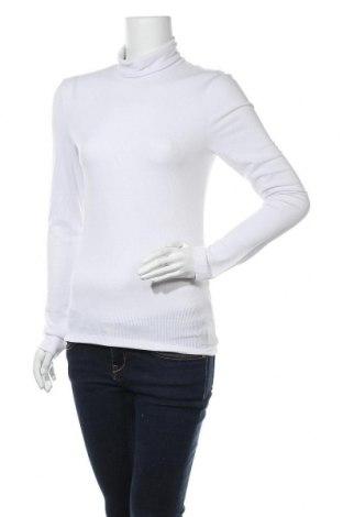Γυναικείο ζιβάγκο Pieces, Μέγεθος XL, Χρώμα Λευκό, 62% πολυεστέρας, 33% βισκόζη, 5% ελαστάνη, Τιμή 11,86€