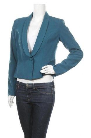 Γυναικείο σακάκι Amisu, Μέγεθος M, Χρώμα Μπλέ, 77% πολυεστέρας, 18% βισκόζη, 5% ελαστάνη, Τιμή 6,14€