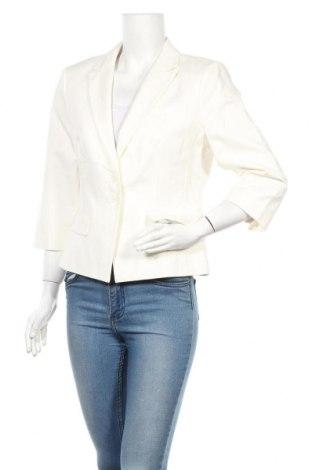 Дамско сако Sir Oliver, Размер L, Цвят Бял, 97% памук, 3% еластан, Цена 29,92лв.