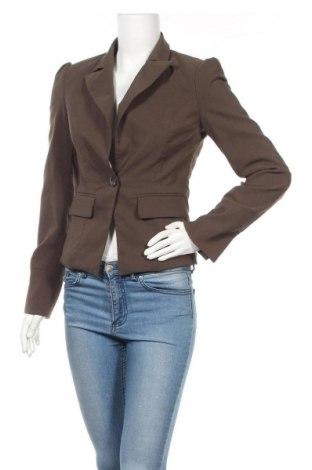 Дамско сако Vero Moda, Размер S, Цвят Кафяв, 63% полиестер, 34% вискоза, 3% еластан, Цена 24,00лв.