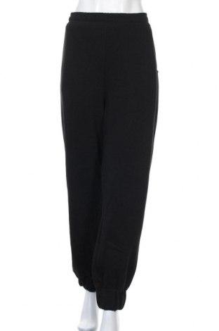 Дамско спортно долнище Capsule, Размер 3XL, Цвят Черен, 50% памук, 50% полиестер, Цена 42,00лв.