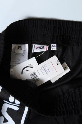 Γυναικείο αθλητικό παντελόνι Fila, Μέγεθος XXL, Χρώμα Μαύρο, Πολυεστέρας, Τιμή 26,68€
