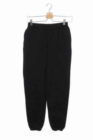 Γυναικείο αθλητικό παντελόνι Gina Tricot, Μέγεθος XXS, Χρώμα Μαύρο, 65% βαμβάκι, 35% πολυεστέρας, Τιμή 12,56€