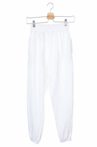 Γυναικείο αθλητικό παντελόνι Missguided, Μέγεθος XS, Χρώμα Λευκό, 60% βαμβάκι, 40% πολυεστέρας, Τιμή 15,80€