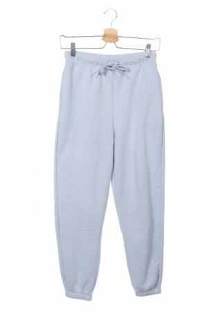 Γυναικείο αθλητικό παντελόνι Pieces, Μέγεθος XS, Χρώμα Μπλέ, 60% βαμβάκι, 40% πολυεστέρας, Τιμή 16,24€