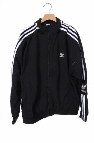 Γυναικεία αθλητική ζακέτα Adidas Originals, Μέγεθος XS, Χρώμα Μαύρο, Πολυεστέρας, Τιμή 22,96€