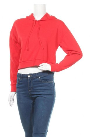 Γυναικείο φούτερ H&M Divided, Μέγεθος S, Χρώμα Κόκκινο, 60% βαμβάκι, 40% πολυεστέρας, Τιμή 12,15€