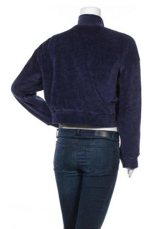 Γυναικεία αθλητική ζακέτα Missguided, Μέγεθος M, Χρώμα Μπλέ, 20% πολυεστέρας, 80% βαμβάκι, Τιμή 10,83€