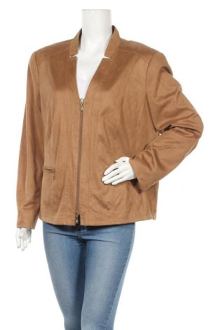Дамско яке Gelco, Размер XL, Цвят Кафяв, Полиестер, Цена 15,80лв.
