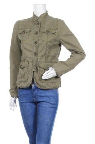 Дамско яке H&M, Размер L, Цвят Зелен, Памук, Цена 13,23лв.