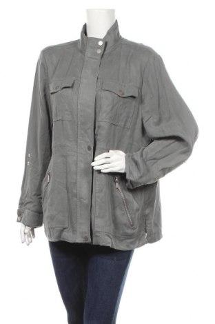Дамско яке Mint Velvet, Размер XL, Цвят Сив, Лиосел, Цена 45,80лв.