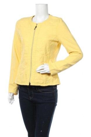 Дамско яке Olsen, Размер L, Цвят Жълт, 95% памук, 5% еластан, Цена 45,82лв.