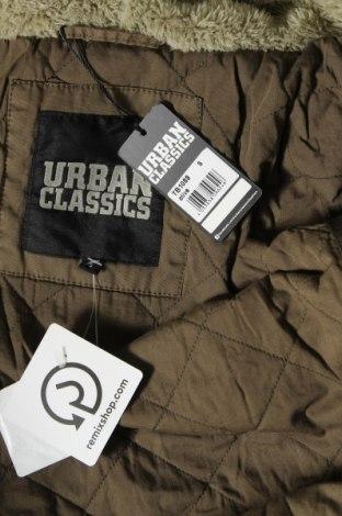 Дамско яке Urban Classics, Размер S, Цвят Зелен, Памук, Цена 42,16лв.