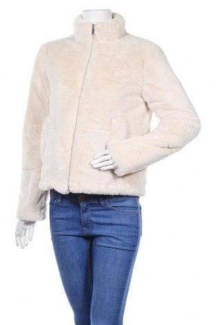 Дамско яке Zara, Размер S, Цвят Бежов, Полиестер, Цена 42,92лв.