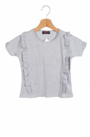 Παιδική μπλούζα Chic, Μέγεθος 5-6y/ 116-122 εκ., Χρώμα Γκρί, 97% βαμβάκι, 3% ελαστάνη, Τιμή 9,78€