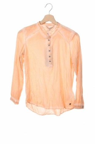Детска блуза Garcia Jeans, Размер 14-15y/ 168-170 см, Цвят Оранжев, 100% вискоза, Цена 22,62лв.