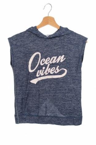 Παιδική μπλούζα H&M, Μέγεθος 8-9y/ 134-140 εκ., Χρώμα Μπλέ, 72% βισκόζη, 25% πολυεστέρας, 3% ελαστάνη, Τιμή 9,09€