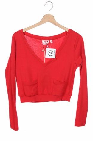 Παιδική μπλούζα Million X, Μέγεθος 10-11y/ 146-152 εκ., Χρώμα Κόκκινο, 60% πολυεστέρας, 35% βαμβάκι, 5% ελαστάνη, Τιμή 6,86€