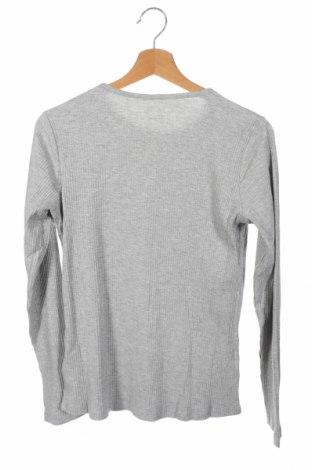 Детска блуза Name It, Размер 12-13y/ 158-164 см, Цвят Сив, 60% памук, 40% полиестер, Цена 25,50лв.