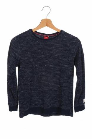 Παιδική μπλούζα S.Oliver, Μέγεθος 11-12y/ 152-158 εκ., Χρώμα Μπλέ, 82% βαμβάκι, 14% πολυεστέρας, 4% ελαστάνη, Τιμή 9,31€