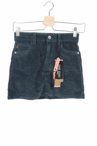 Детска пола Cars Jeans, Размер 11-12y/ 152-158 см, Цвят Зелен, 98% памук, 2% еластан, Цена 9,99лв.