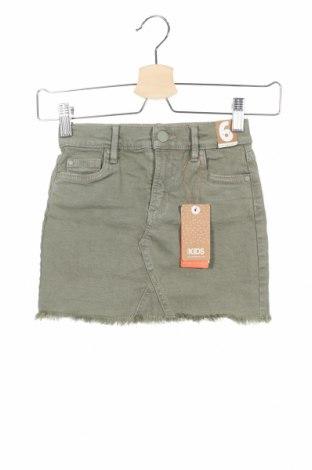 Παιδική φούστα Cotton On, Μέγεθος 5-6y/ 116-122 εκ., Χρώμα Πράσινο, 98% βαμβάκι, 2% ελαστάνη, Τιμή 11,38€