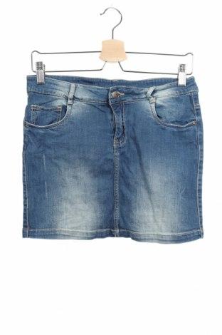 Παιδική φούστα Crash One, Μέγεθος 13-14y/ 164-168 εκ., Χρώμα Μπλέ, 99% βαμβάκι, 1% ελαστάνη, Τιμή 6,14€