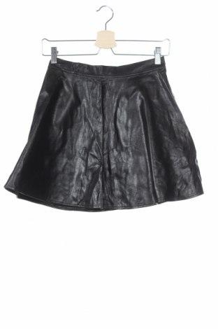 Παιδική φούστα Cubus, Μέγεθος 11-12y/ 152-158 εκ., Χρώμα Μαύρο, Δερματίνη, Τιμή 4,77€