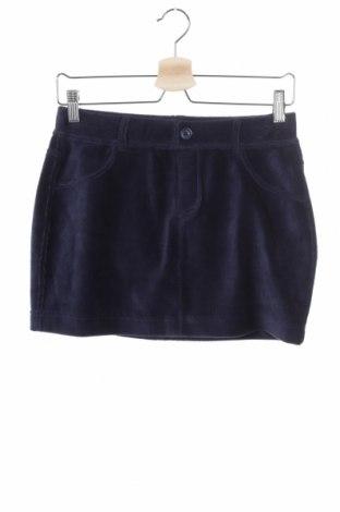 Παιδική φούστα United Colors Of Benetton, Μέγεθος 14-15y/ 168-170 εκ., Χρώμα Μπλέ, 62% βαμβάκι, 35% πολυεστέρας, 3% ελαστάνη, Τιμή 1,92€