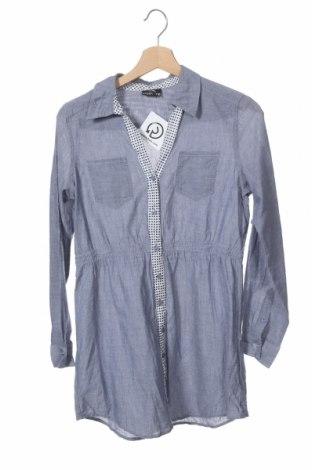 Παιδικό πουκάμισο Crash One, Μέγεθος 12-13y/ 158-164 εκ., Χρώμα Μπλέ, Βαμβάκι, Τιμή 4,16€