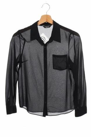 Παιδικό πουκάμισο New Look, Μέγεθος 12-13y/ 158-164 εκ., Χρώμα Μαύρο, Πολυεστέρας, Τιμή 1,59€