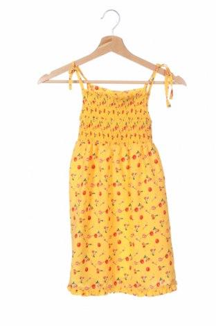Παιδικό φόρεμα, Μέγεθος 5-6y/ 116-122 εκ., Χρώμα Κίτρινο, Πολυεστέρας, Τιμή 4,16€