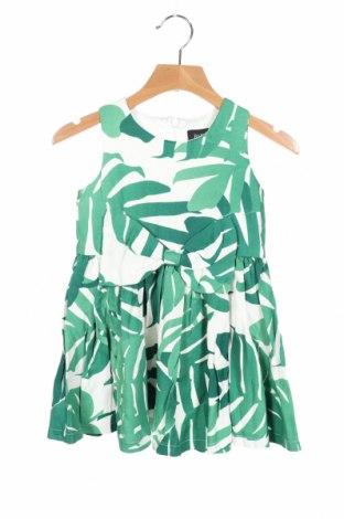Παιδικό φόρεμα Bardot, Μέγεθος 18-24m/ 86-98 εκ., Χρώμα Πράσινο, 74% βισκόζη, 21% lyocell, 5% λινό, Τιμή 14,60€