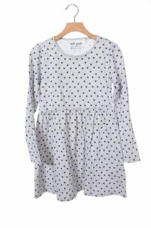 Детска рокля Blue Seven, Размер 6-7y/ 122-128 см, Цвят Сив, 95% памук, 5% вискоза, Цена 22,36лв.