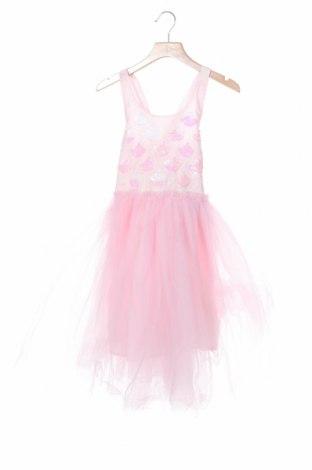 Παιδικό φόρεμα Cotton On, Μέγεθος 7-8y/ 128-134 εκ., Χρώμα Ρόζ , 57% βαμβάκι, 29% πολυεστέρας, 14% μεταλλικά νήματα, Τιμή 26,68€