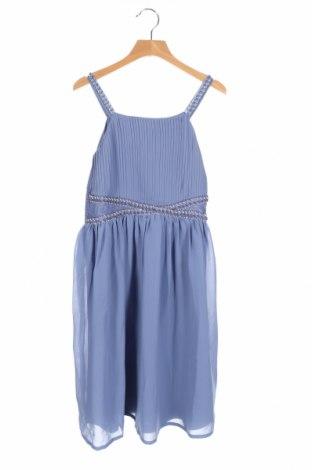Детска рокля Friboo, Размер 12-13y/ 158-164 см, Цвят Син, Полиестер, Цена 22,40лв.