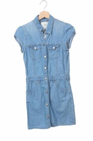 Детска рокля H&M L.O.G.G., Размер 12-13y/ 158-164 см, Цвят Син, 100% памук, Цена 22,94лв.