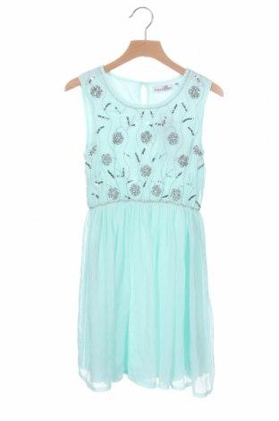 Παιδικό φόρεμα Happy Girls By Eisend, Μέγεθος 6-7y/ 122-128 εκ., Χρώμα Μπλέ, Πολυεστέρας, Τιμή 9,96€