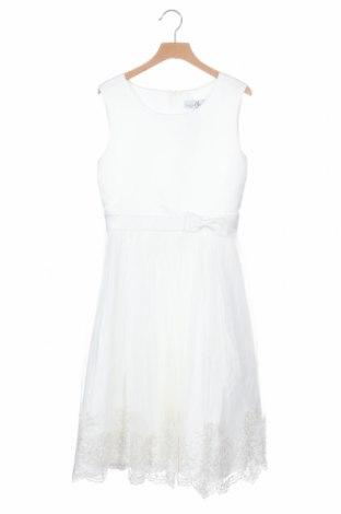 Παιδικό φόρεμα Happy Girls By Eisend, Μέγεθος 10-11y/ 146-152 εκ., Χρώμα Λευκό, Πολυεστέρας, Τιμή 14,23€