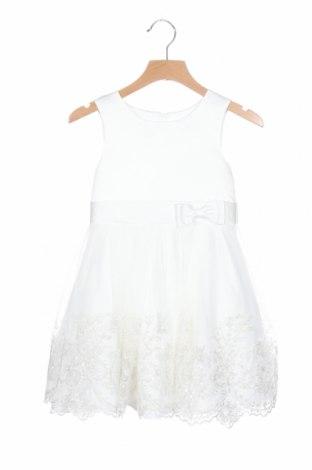 Παιδικό φόρεμα Happy Girls By Eisend, Μέγεθος 18-24m/ 86-98 εκ., Χρώμα Λευκό, Πολυεστέρας, Τιμή 17,07€