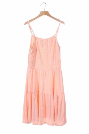Παιδικό φόρεμα, Μέγεθος 12-13y/ 158-164 εκ., Χρώμα Ρόζ , 70% βαμβάκι, 30% πολυεστέρας, Τιμή 11,69€