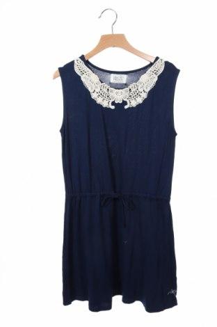 Παιδικό φόρεμα Little Pieces, Μέγεθος 10-11y/ 146-152 εκ., Χρώμα Μπλέ, Βισκόζη, Τιμή 12,28€