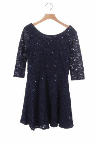 Παιδικό φόρεμα Marks & Spencer, Μέγεθος 10-11y/ 146-152 εκ., Χρώμα Μπλέ, 66% πολυαμίδη, 32% βισκόζη, 2% ελαστάνη, Τιμή 6,14€