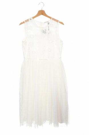 Παιδικό φόρεμα Name It, Μέγεθος 13-14y/ 164-168 εκ., Χρώμα Λευκό, Πολυεστέρας, Τιμή 14,23€