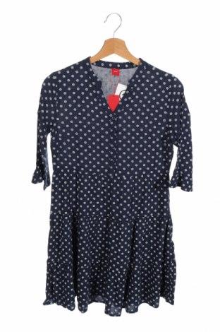 Παιδικό φόρεμα S.Oliver, Μέγεθος 12-13y/ 158-164 εκ., Χρώμα Μπλέ, 100% βισκόζη, Τιμή 8,18€