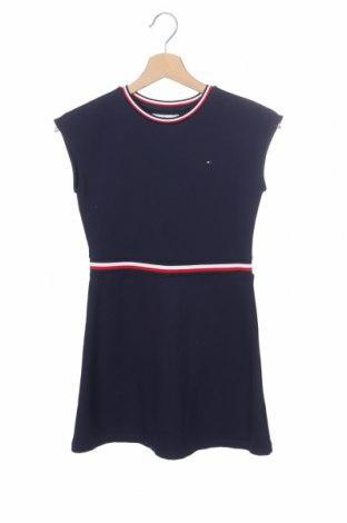 Παιδικό φόρεμα Tommy Hilfiger, Μέγεθος 10-11y/ 146-152 εκ., Χρώμα Μπλέ, 70% βισκόζη, 26% πολυαμίδη, 4% ελαστάνη, Τιμή 38,21€