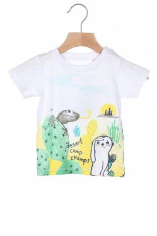 Παιδικό μπλουζάκι Blue Seven, Μέγεθος 6-9m/ 68-74 εκ., Χρώμα Λευκό, Βαμβάκι, Τιμή 10,91€