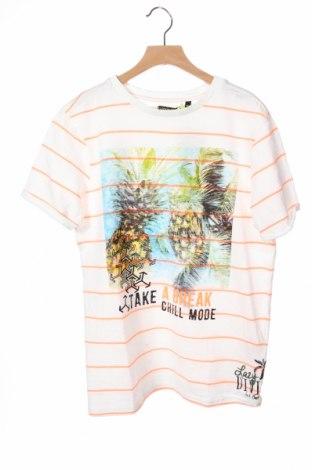 Παιδικό μπλουζάκι Lemon Beret, Μέγεθος 12-13y/ 158-164 εκ., Χρώμα Λευκό, 90% βαμβάκι, 10% πολυεστέρας, Τιμή 11,92€