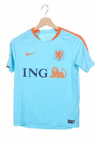 Детска тениска Nike, Размер 11-12y/ 152-158 см, Цвят Син, Полиестер, Цена 13,44лв.