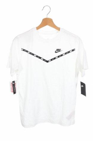 Παιδικό μπλουζάκι Nike, Μέγεθος 14-15y/ 168-170 εκ., Χρώμα Λευκό, Βαμβάκι, Τιμή 18,44€